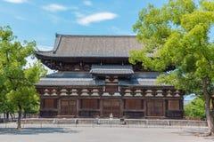 El templo de Toji es un templo budista de la secta del Shingon en Kyoto, Japón imagen de archivo libre de regalías