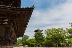 El templo de Toji es un templo budista de la secta del Shingon en Kyoto, Jap?n fotografía de archivo