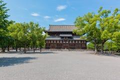 El templo de Toji es un templo budista de la secta del Shingon en Kyoto, Jap?n fotos de archivo libres de regalías
