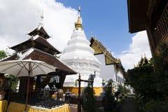 El templo de Wat Duang Di está situado en el centro de la ciudad emparedada vieja de Chiang Mai, Tailandia Foto de archivo