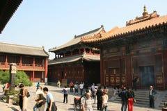 El templo de Yonghe - Pekín - China (5) Foto de archivo libre de regalías