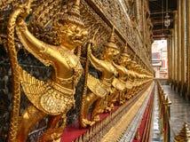 El Templo del Buda de Jade en Bangkok, Tailandia fotografía de archivo