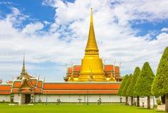 El templo del Buda esmeralda Foto de archivo