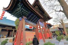 El templo del chenghuangmiao de xian, adobe rgb Fotografía de archivo
