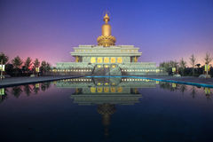 El templo del chino tradicional Imagen de archivo libre de regalías