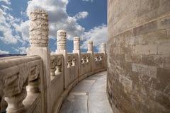 El Templo del Cielo (altar del cielo), Pekín, China imágenes de archivo libres de regalías