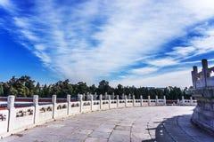 El Templo del Cielo en Pekín Imagen de archivo