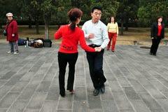 El Templo del Cielo en Pekín China Fotos de archivo