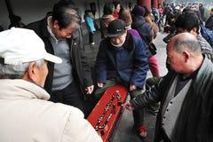 El Templo del Cielo en Pekín China Imágenes de archivo libres de regalías