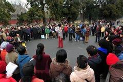 El Templo del Cielo en Pekín China Fotos de archivo libres de regalías
