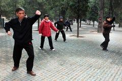 El Templo del Cielo en Pekín China Foto de archivo