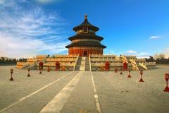 El Templo del Cielo en Pekín, China Imagenes de archivo