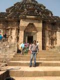 El templo del konark Foto de archivo