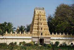 El templo del palacio de Mysore en la India Imagen de archivo