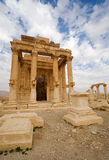 El templo del Palmyra de Ba'al-Shamin Fotos de archivo libres de regalías