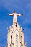 El templo del Sagrat Cor (iglesia del corazón sagrado). Barcelon foto de archivo libre de regalías