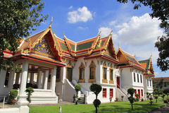El templo en Bangkok, Tailandia Fotos de archivo libres de regalías