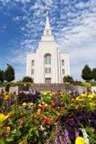 El templo en Kansas City Missouri Fotografía de archivo