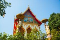 El templo en Laos Imagenes de archivo