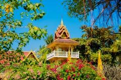 El templo en Laos Imagen de archivo libre de regalías