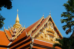 El templo en Laos Fotos de archivo