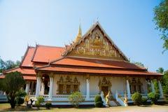 El templo en Laos Foto de archivo
