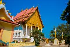 El templo en Laos Foto de archivo libre de regalías