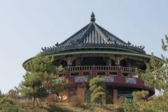 el templo es Hua-Yang en China Imagen de archivo libre de regalías