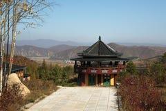 el templo es Hua-Yang en China Imágenes de archivo libres de regalías
