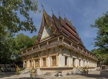 El templo hermoso de Wat Haysoke en Vientián, Laos imagen de archivo libre de regalías