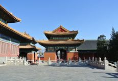 El templo imperial de los emperadores de dinastías sucesivas Imagenes de archivo