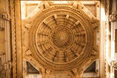 El templo Jain en Ranakpur, Rajasthán foto de archivo libre de regalías