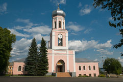 El templo principal de la ciudad Fotos de archivo