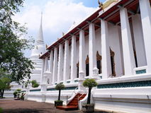 El templo principal de Wat Chaloem Phrakiat Thailand Fotografía de archivo libre de regalías