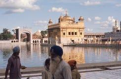 El templo sikh sagrado, de Amritsar. Fotos de archivo libres de regalías