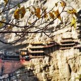 El templo suspendido imagen de archivo