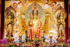 El templo y el museo de la reliquia del diente de Buda, y construido para contener la reliquia del diente del Buda histórico, en  fotografía de archivo