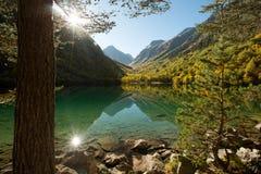 El tercer río de Baduk en el otoño imagen de archivo