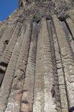 El terraplén Irlanda del Norte del gigante del órgano imagenes de archivo