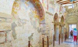 El tesoro de la iglesia Imagen de archivo libre de regalías