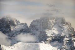El Tetons magnífico foto de archivo