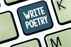 El texto de la escritura escribe poesía Ideas melancólicas roanalysistic de la literatura de la escritura del significado del con foto de archivo