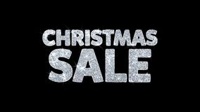 El texto de la venta de la Navidad desea los saludos de las partículas, invitación, fondo de la celebración libre illustration