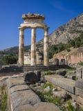 El Tholos, Delphi, Grecia Imagen de archivo libre de regalías