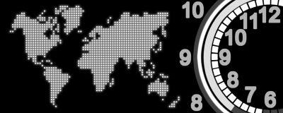 El tiempo stock de ilustración
