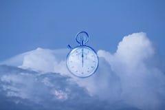 El tiempo corrió hacia fuera Imagenes de archivo