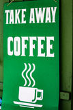 El tiempo de Coffe se lleva Imagenes de archivo