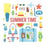 El tiempo de verano Fotografía de archivo libre de regalías