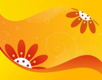 El tiempo de verano florece el gráfico Imágenes de archivo libres de regalías