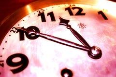 El tiempo dirá Imagen de archivo libre de regalías